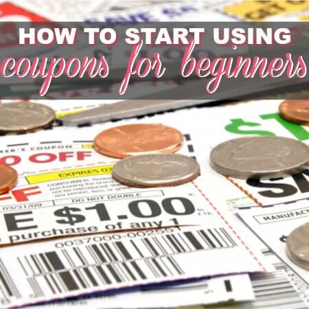How To Start Using Coupons For Beginners