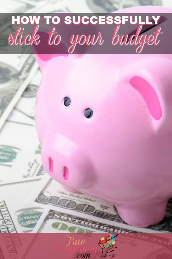 Sticking to your budget can be extremely difficult. You can be successful with these ways to help you stick to it! #truecouponing #budget #budgeting #debt #debtfree