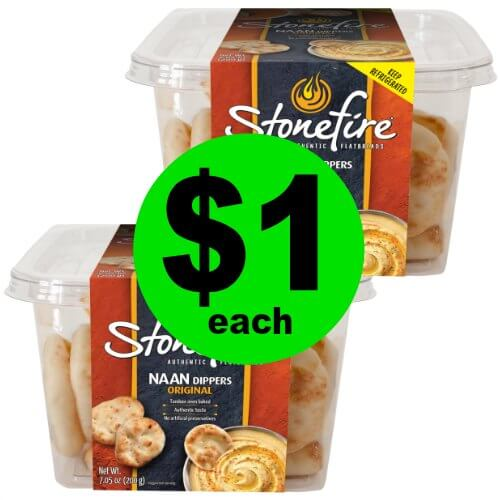 Dip Away with $1 Stonefire Naan Dippers at Publix! (Ends 12/26 or 12/27)