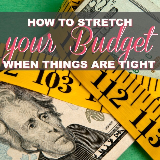 How To Stretch Your Budget When You're Tight On Money