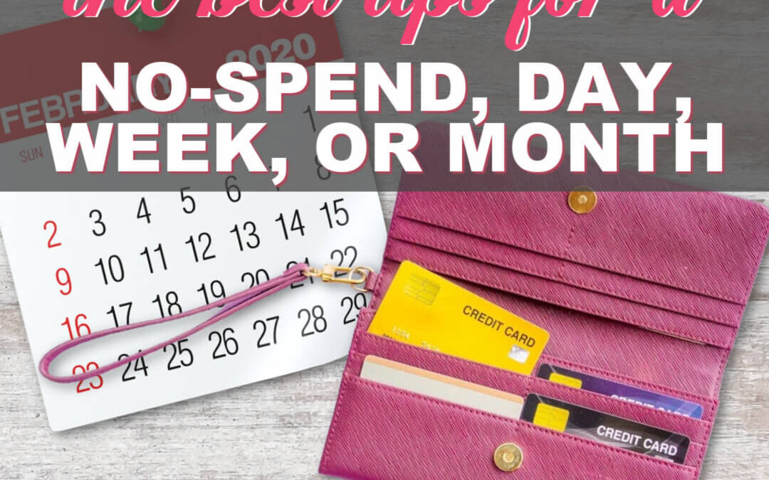 The Best Tips For A No-Spend Day, Week, Month, Or Year