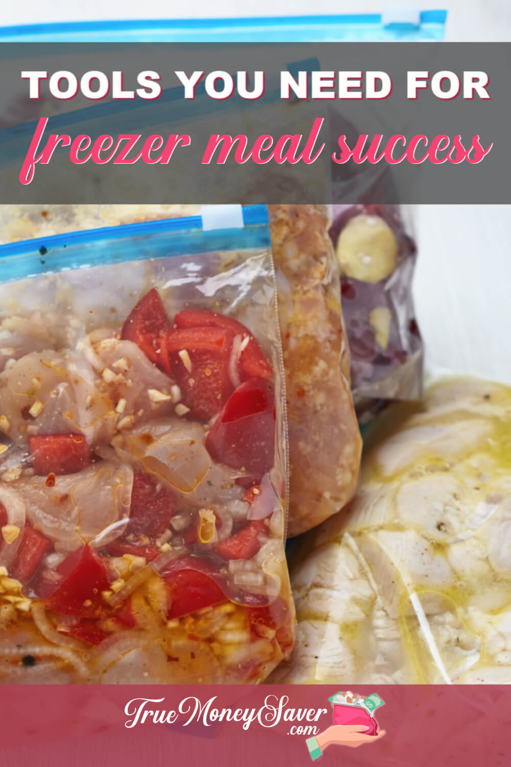 freezer meal prep tools