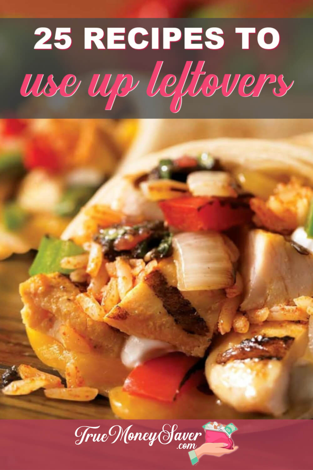 I hate leftovers! But there are recipes to use up leftovers so you don't waste them! And these easy leftover recipe ideas are just what you need to add to your meal plan! Get started with these recipe ideas! #debtfree  #savingmoney #truemoneysaver #mealplanning #mealprep #meal #mealprepping #mealprepsunday #mealplan #mealprepideas #leftovers #leftoversfordays #theleftovers #leftoversfordinner #loveyourleftovers