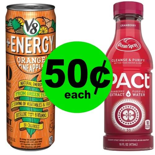 Drink Up with 50¢ Ocean Spray or V8 Drinks (No Coupon Needed) at CVS! (12/24 – 12/30)