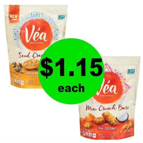 Snack on $1.15 Vea Crackers, Crisps or Bars at Publix! (Ends 1/2 or 1/3)