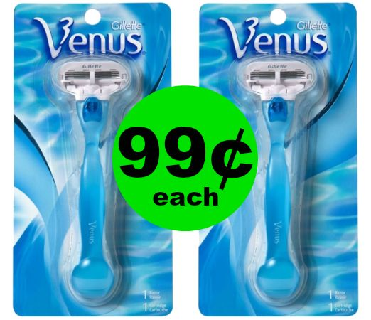 Check Out 99¢ Venus Razors at CVS! ~ Ad Starts Sunday!