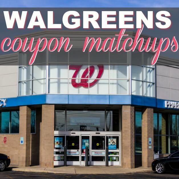 Walgreens Coupon Matchups 3/18 – 3/24 Best Deals