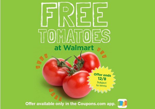 Don't Miss Out on Your FREE Tomatoes at Walmart! ~Ends Friday!