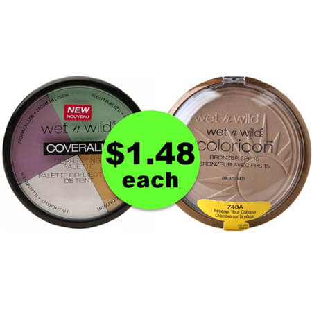 Score Wet n Wild Cosmetics ONLY $1.48 Each at Walgreens! Starts Sunday!