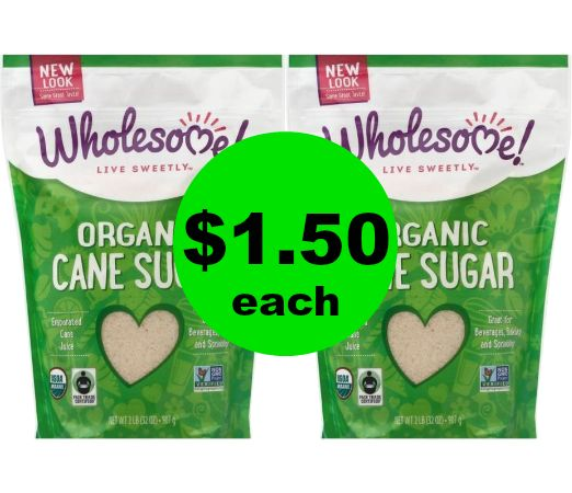 Print Now & Sweeten Up! Grab Wholesome Organic Cane Sugar for $1.50 at Publix! ~ Ends Tues/Weds!