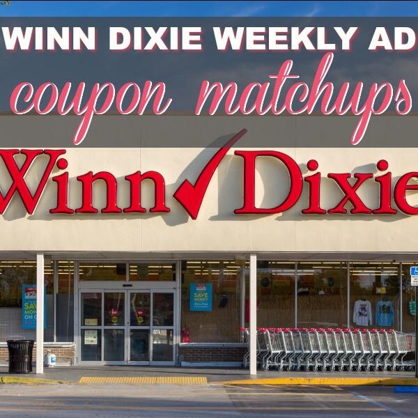 Winn Dixie Coupon Matchups 1/17 – 1/23