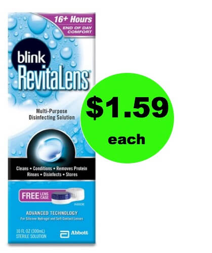 See Clearly with $1.59 Blink Revitalens Contact Lens Solution (Save $6) at Target! (Ends 1/3)