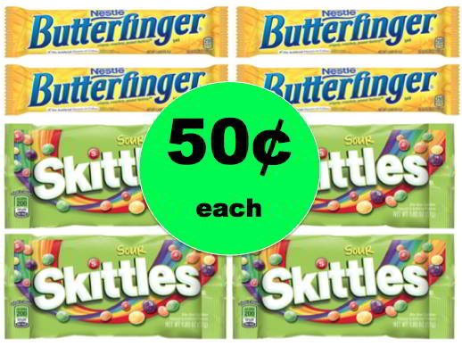 Stocking Stuffer Alert! Get Nestle, Starburst, Skittles or Airhead Candy ONLY 50¢ Each at Walgreens! Starts Today!