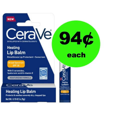 Soothe Your Lips with 94¢ Cerave Healing Lip Balm (Save $5) at Walgreens! (Ends 12/31)