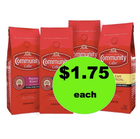 COFFEE ALERT! Get Community Coffee ONLY $1.75 Per Bag at Winn Dixie! (Ends 12/26)