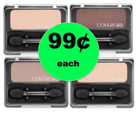 Uncover 99¢ CoverGirl Eye Shadows at Target (Ends 1/6)