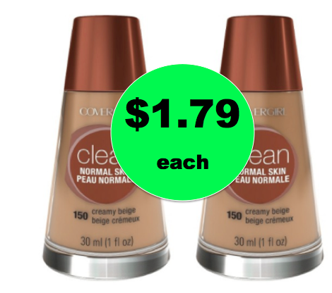 Pick Up TWO (2!) CoverGirl Foundation ONLY $1.79 Each {Reg. $5.29} at Target! ~ Ends Saturday!