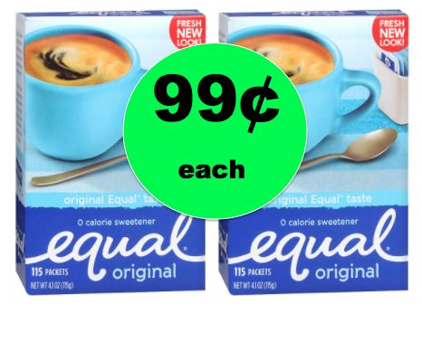Get Equal Sweetener ONLY 99¢ Each at Walgreens! ~Right Now!