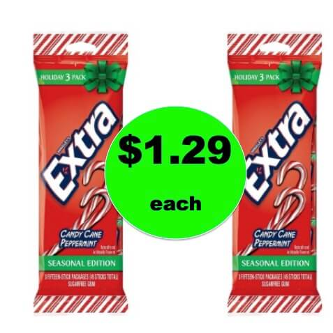 Stocking Stuffer Idea! Pick Up $1.29 Extra Gum 3 Packs at Target! PRINT NOW! (Ends 12/24)