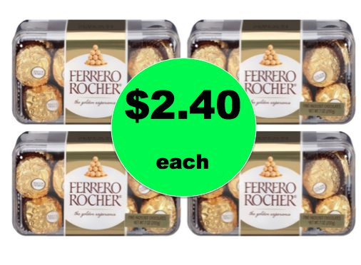 Cheap Chocolate Gift Idea! Save 65% Off Ferrero Rocher Chocolates at Target! ~Going On Now!