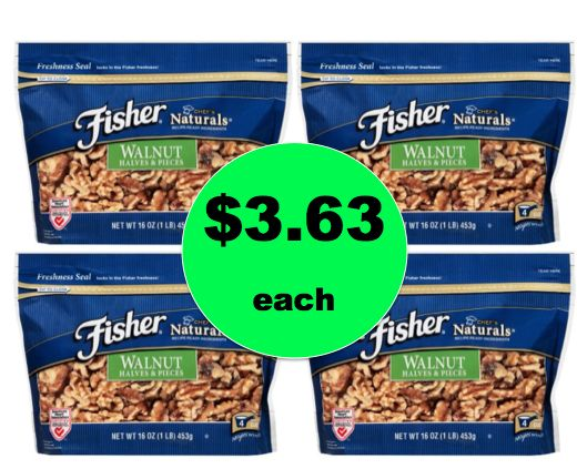 Oh Nuts! Get Fisher Chef's Natural Baking Walnuts JUST $3.63 Each at Target! ~Ends Saturday!