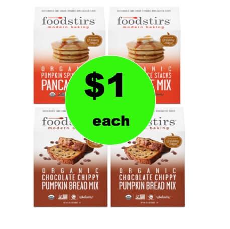 Pick Up $1 Foodstirs Organic Baking Mixes (Reg. $5) at Target! (Ends 1/6)