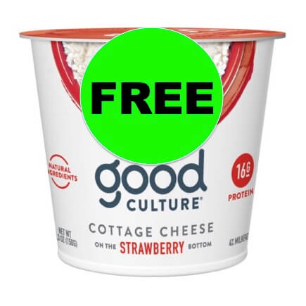 Don T Miss Out On Free Good Culture Cottage Cheese At