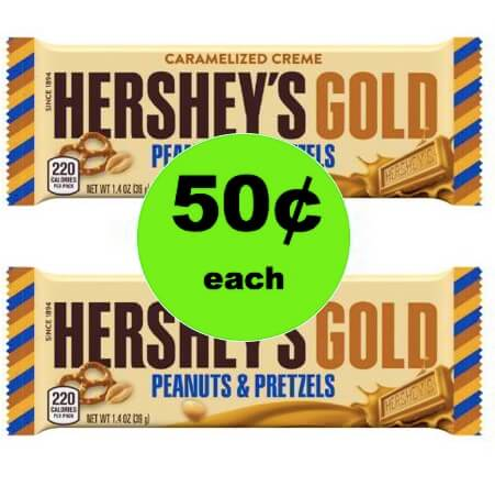 Last Minute Stocking Stuffer! Pick Up Hershey Gold Bars Only 50¢ at Winn Dixie! (Ends 12/26)