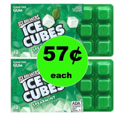 Chew on This! Snag 57¢ Ice Breakers Gum at Target! (Ends 1/1)