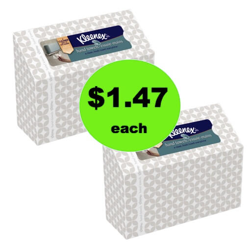 Toss the Germs! Pick Up $1.47 Kleenex Hand Towels at Walmart (50% Off!)! (Ends 12/23)