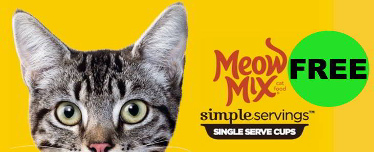 Kitty Owners! Make Sure You Get Your FREE Meow Mix Simple Servings!