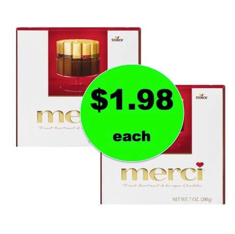 Cheap Chocolate Gift Idea! Get $1.98 Merci Finest Assortment Of European Chocolates at Walmart (Save $3)! (Ends 12/27)