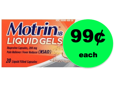 Stop Pain in Its Tracks with 99¢ Motrin Pain Reliever at Target! ~Going On Now!