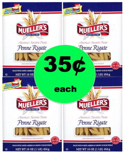 Mama Mia! Mueller's Pasta Only 35¢ Each at Winn Dixie! Starts Wednesday!