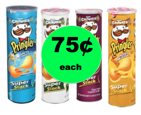 Snack Time! Get FOUR (4!) Cans of Pringles for ONLY 75¢ Each at Winn Dixie! ~NOW!