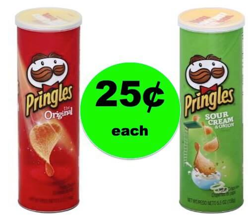 Snack Time! Get (2) Cans of Pringles for ONLY 25¢ Each at Winn Dixie! Starts Tomorrow!