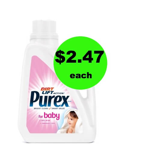 Clean the Littles Clothes for Cheap with $2.47 Purex Baby Detergent at Walmart! Print Now!