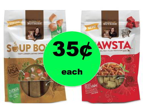 Don't Forget Your Rachel Ray Dog Treats ONLY 35¢ Each at Winn Dixie! Ends Tomorrow!