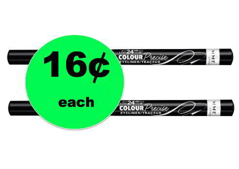Another Super Make Up Deal! Pick Up 16¢ Rimmel Colour Precise Eyeliners at Target! ~This Week!