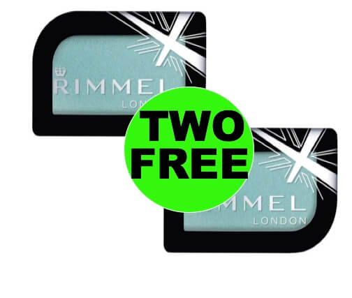 Get Your TWO (2!) FREE Rimmel Eye Shadows at Walmart!