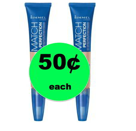 Pick Up 50¢ Rimmel Match Perfection Concealer & Highlighter at Target! ~NOW!