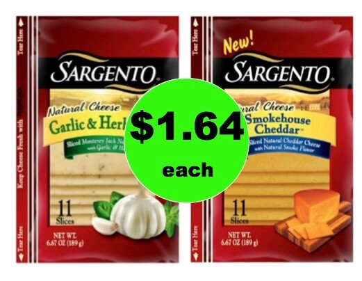 More Cheese Please! Get $1.64 Sargento Sliced Cheese at Target! (Ends 1/3)