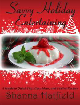 FREE Savvy Holiday Entertaining eBook!