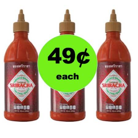 Spice It Up with 49¢ Tabasco Sriracha Sauce (Reg. $4) at Target! (Ends 12/30)