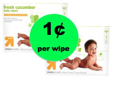 Better Than Stock Up Price! Get Up & Up Baby Wipes ONLY 1¢ per Wipe at Target! ~Right Now!