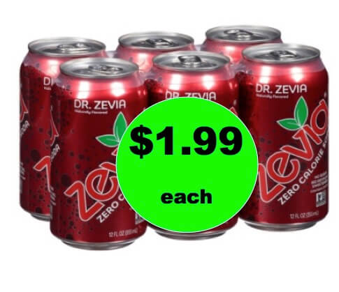 Snag a Deal on Zevia Natural Soda Only $1.99 at Target (Reg. $5)! Ends Saturday!