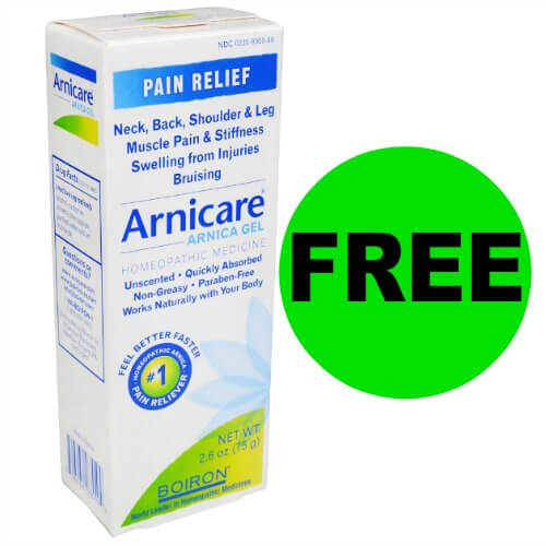 Grab FREE Arnicare Pain Cream at CVS! (1/21 – 1/27)
