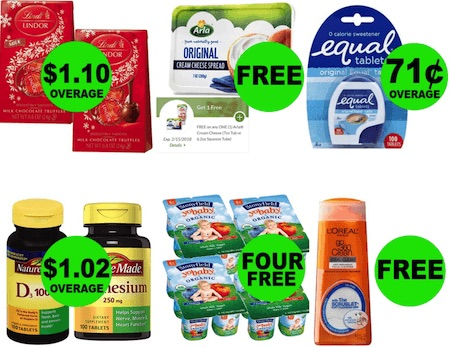 FREEbie Time: Get $2.78 in OVERAGE, FOUR (4!) FREEbies & FIVE (5!) Deals $0.69 Each or Less at Publix! (Sneak Peek) Publix Coupon Matchups 1/25 – 1/31 (or 1/24 – 1/30)