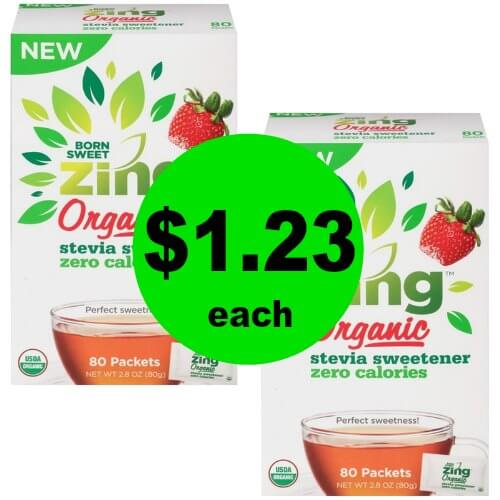 Head to Publix to Grab Born Sweet Zing Stevia Sweetener for $1.23 Each (Reg. $5+)!  (1/18-1/24 or 1/17-1/23)