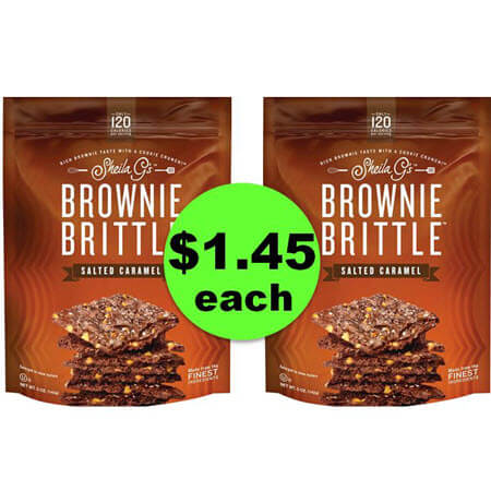 Your Own Bag of Shiela G's Brownie Brittle JUST $1.45 Each at Target! Reg. $3.49! (Ends 1/13)
